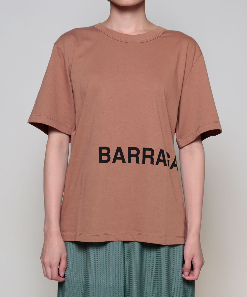 """BARRAGAN""  logo  T<half sleeve>"