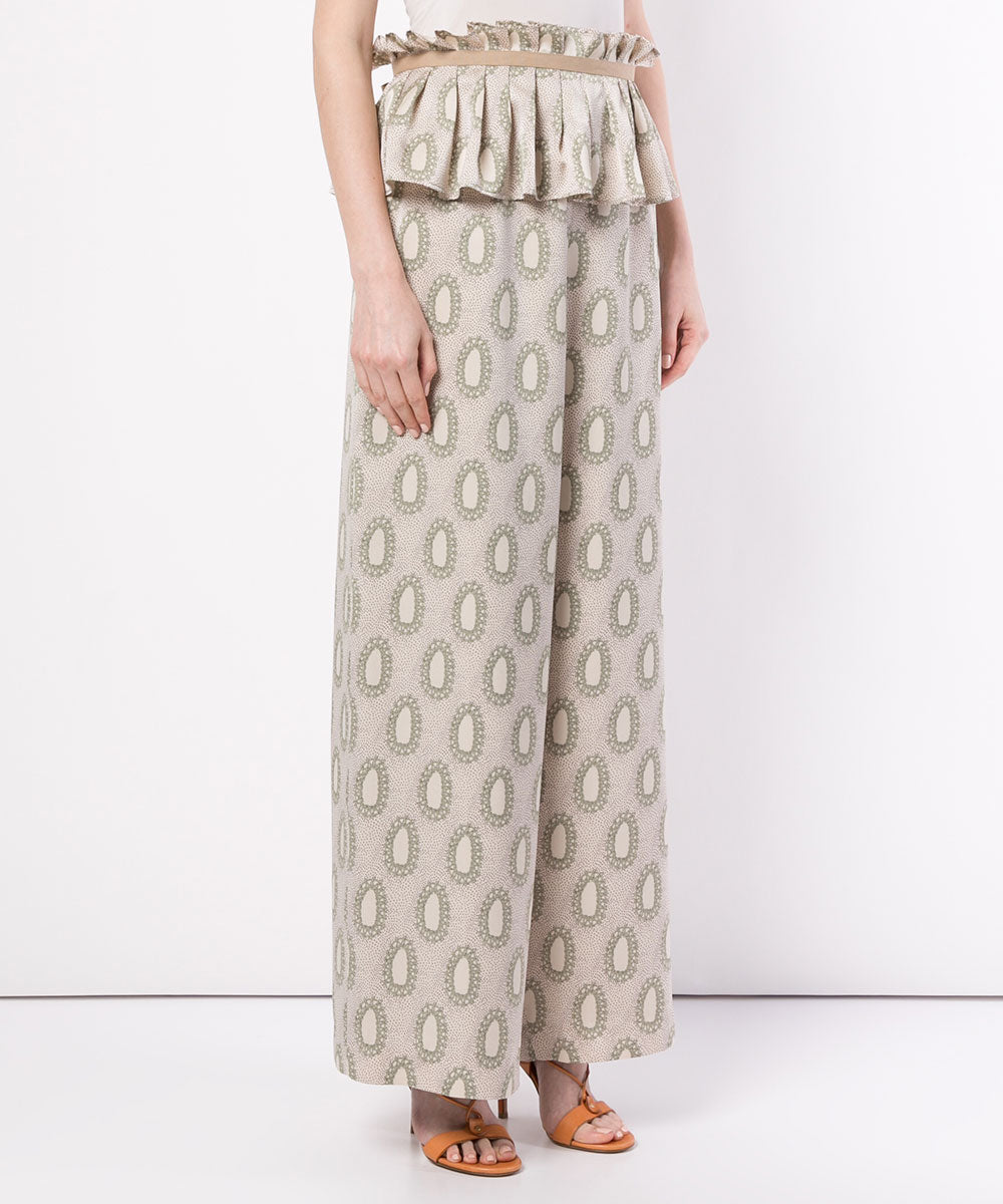 Millor wide pants/w belt