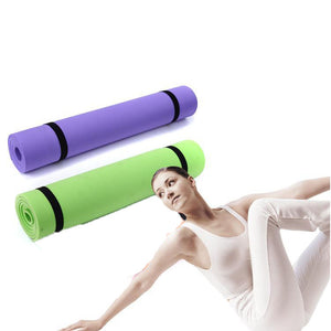 Extra Thick Yoga Mat, 6mm