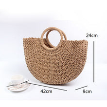 Handmade Straw Bag