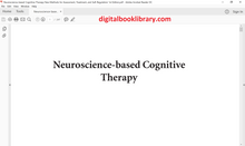 Neuroscience-based Cognitive Therapy: New Methods for Assessment, Treatment, and Self-Regulation 1st Edition - PDF Version
