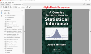 A Concise Introduction to Statistical Inference 1st Edition - PDF Version