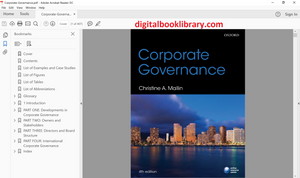 Corporate Governance 4th Edition - PDF Version