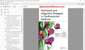Nutritional and Integrative Strategies in Cardiovascular Medicine 1st Edition - PDF Version