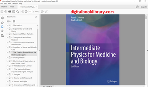 Intermediate Physics for Medicine and Biology 5th Edition - PDF Version
