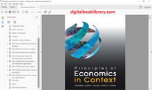 Principles of Economics in Context 1st Edition - PDF Version