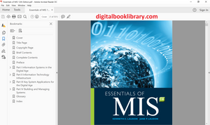 Essentials of MIS 12th Edition - PDF Version