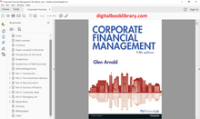 Corporate Financial Management 5th Edition - PDF Version