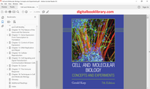 Cell and Molecular Biology Concepts and Experiments 7th Edition - PDF Version