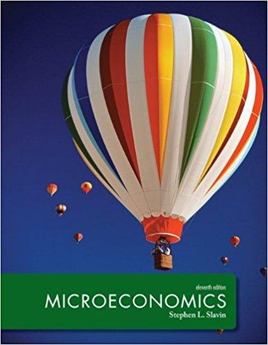Microeconomics 11th Edition by Stephen L Slavin  - PDF Version