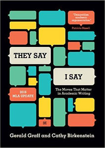 """They Say / I Say"": The Moves That Matter in Academic Writing 3rd Edition (PDF Version)"
