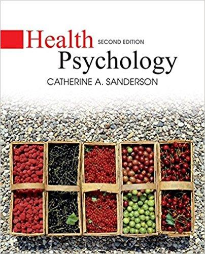 Health Psychology 2nd Edition - PDF Version