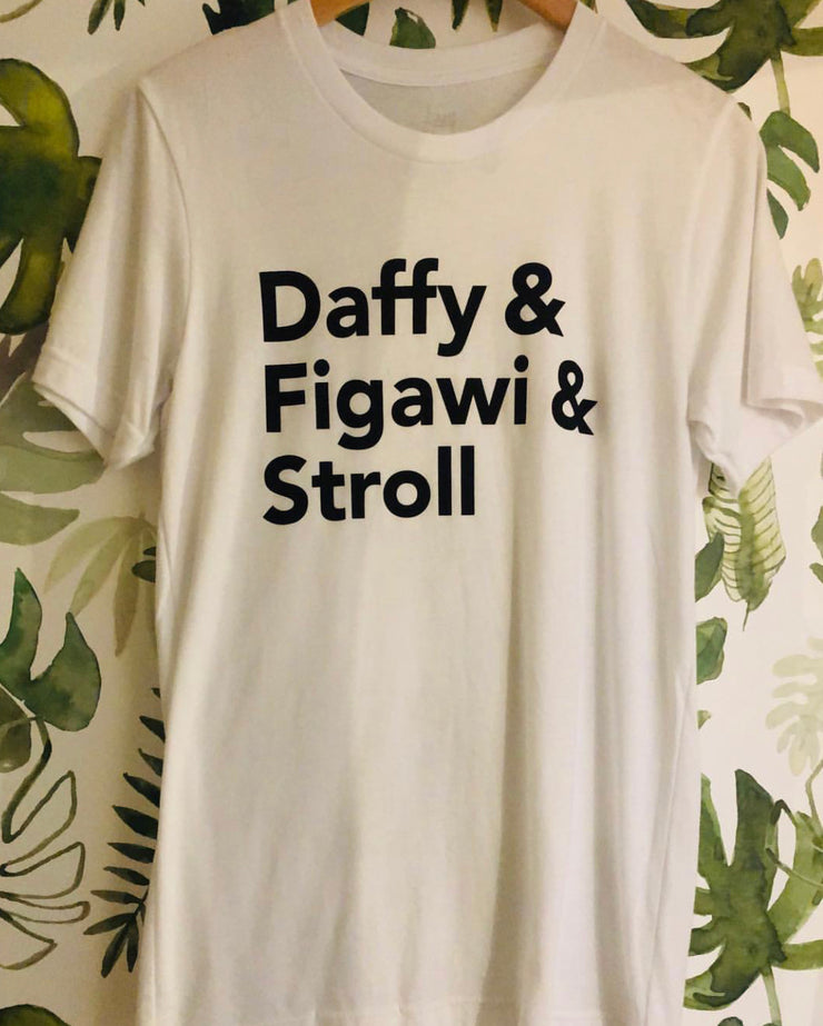Grey Clothing Daffy Figawi Stroll T-shirt