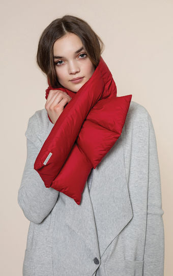 Puffy Down Scarf