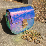 Holographic Small Handbag