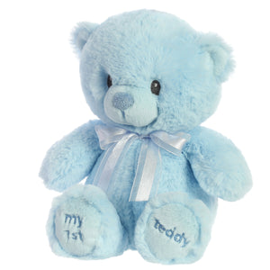 My First Teddy Blue 12in