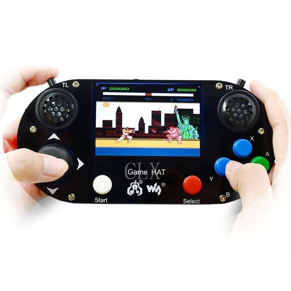 Raspberry Pi 3B+ Game LCD 3.5inch HDMI LCD Gamepad on board for Raspberry Pi 2B zero w RetroPie with Case