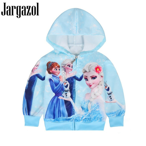 Sweatshirt Autumn  Coat Princess Elsa Anna Costume