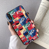 #Case for Iphone 11 Pro \6\7\8 Plus 6S XS Max XR X Etui. Tom and Jerry Silicone case