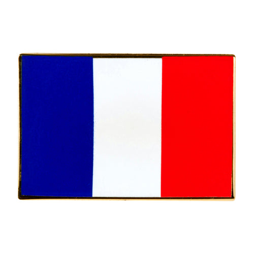 France Flag Enamel Pin