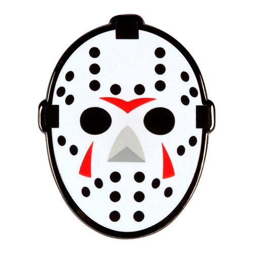 Friday the 13th Hockey Mask Enamel Pin