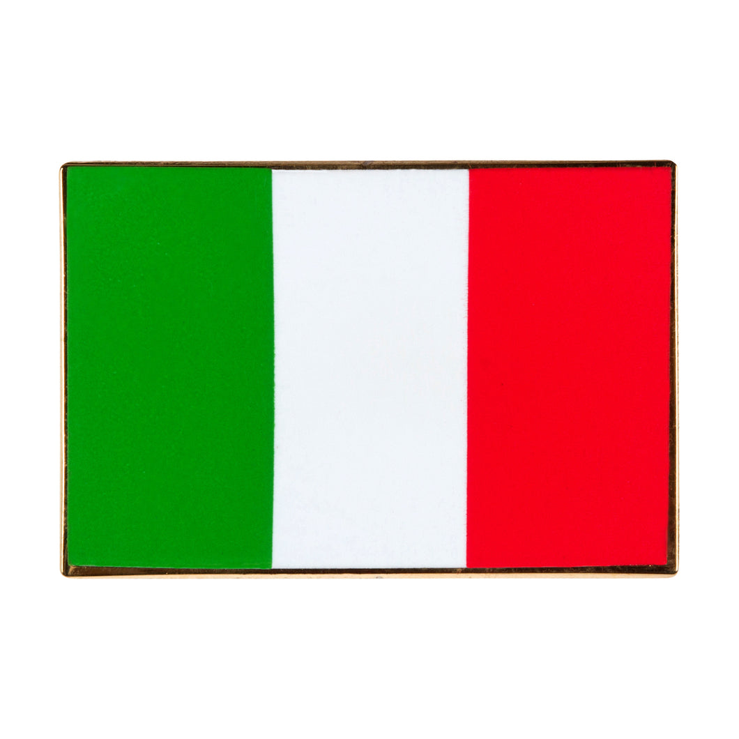 Italy Flag Enamel Pin