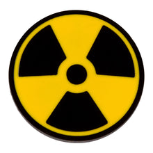 Load image into Gallery viewer, Nuclear Radiation Symbol Enamel Pin