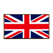 Load image into Gallery viewer, UK Union Jack Flag Enamel Pin