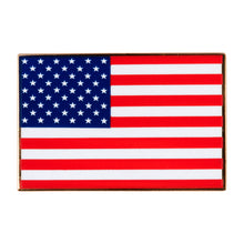 Load image into Gallery viewer, American Flag Enamel Pin