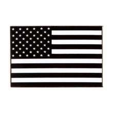 Load image into Gallery viewer, Black American Flag Enamel Pin