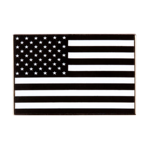Black American Flag Enamel Pin