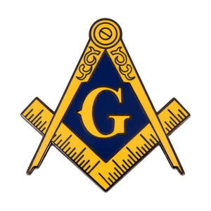 Freemason Logo Enamel Pin