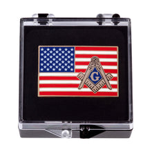 Load image into Gallery viewer, Freemason American Flag