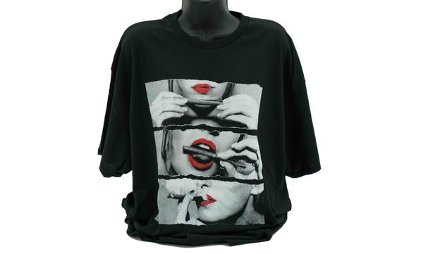 3 Lips Short Sleeve T-Shirt (12 Pack)