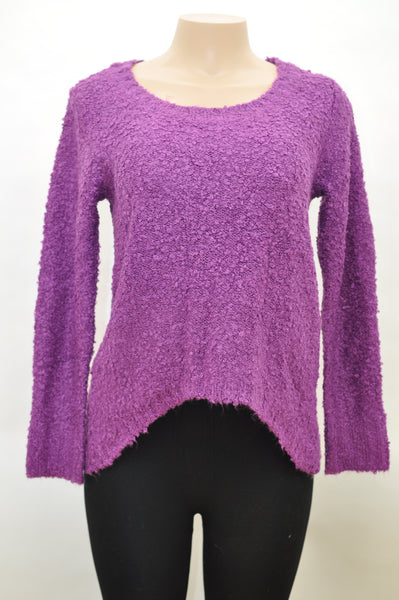 Kerisma Slit-Back Purple Knit Sweater (6 Pack)