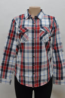 Butterfly Collection Plaid Shirt Single