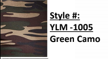 Yummy Leggings Green Camo (6 Pack)