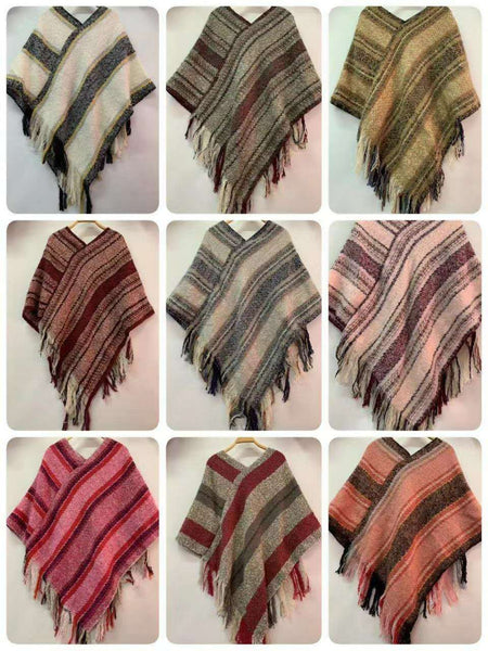 Assorted Ponchos (80 Pcs)
