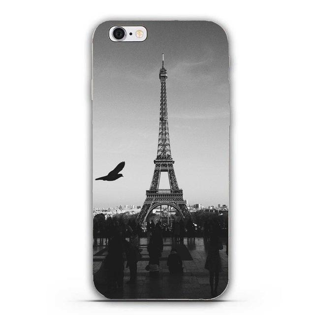Love Paris Tour Eiffel coques Iphone