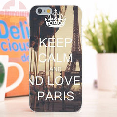 Coques en silicone Keep Calm & Love Paris