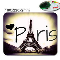 "Tapis de souris ""Love Paris Tour Eiffel"""