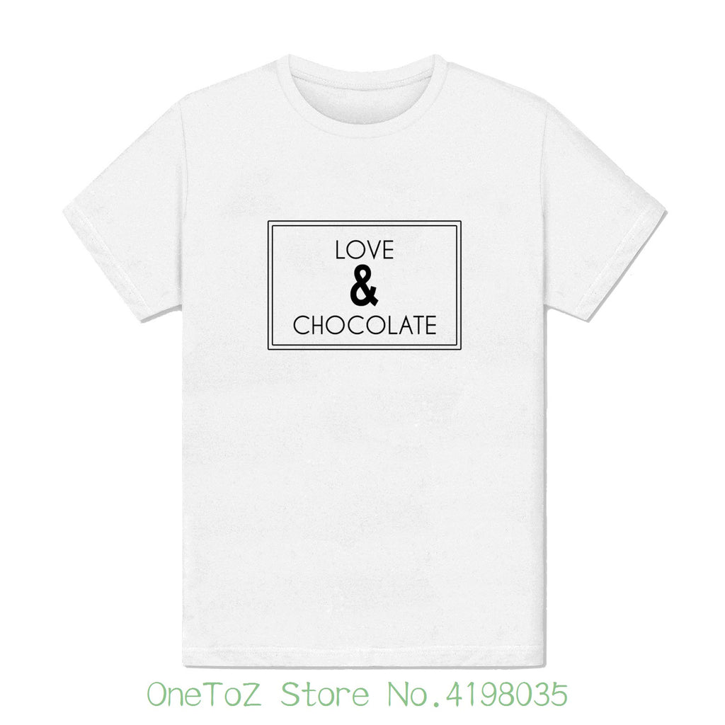 "T-shirt "" Love & Chocolate"""