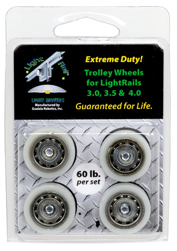 LightRail® Extreme Duty Trolley Wheel Kit