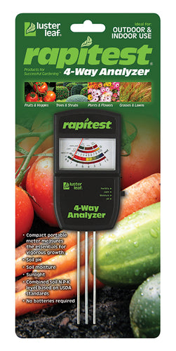 Luster Leaf® Rapitest® 4 Way Analyzer Model 1880