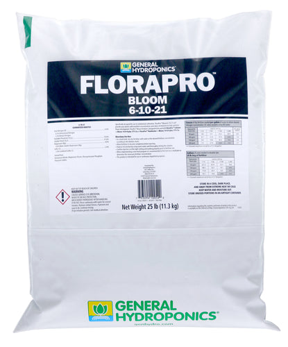 General Hydroponics® FloraPro™ Bloom Soluble 6 - 10 - 21