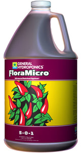 General Hydroponics® FloraMicro® 5 - 0 - 1