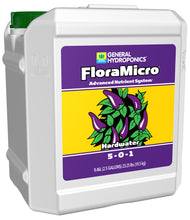 Load image into Gallery viewer, General Hydroponics® Hardwater FloraMicro® 5 - 0 - 1