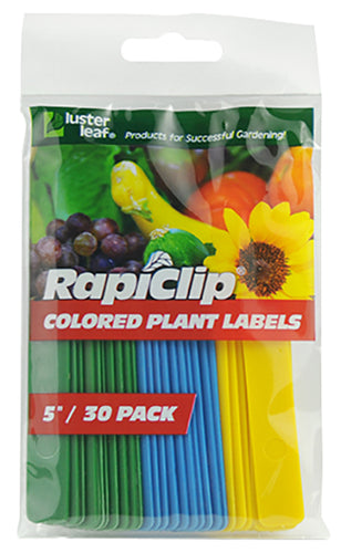 Luster Leaf® Colored Plant Labels