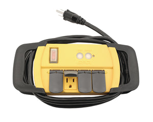 Power All® Indoor GFCI Power Strip - 4 Outlet - 125 Volt