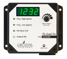 "Load image into Gallery viewer, Grozone Control SCO2 0-5000 PPM CO2 Controller ""Simple One Series"""